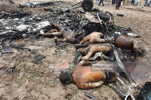 Plane Crash Victims Bodies