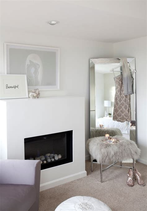 dazzling leaner mirrorin bedroom transitional  pretty