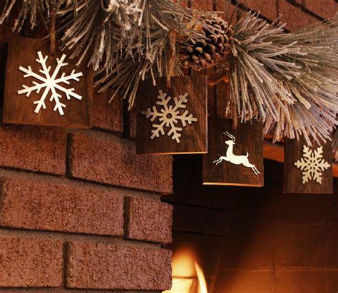 create rustic wooden christmas tree ornaments diy