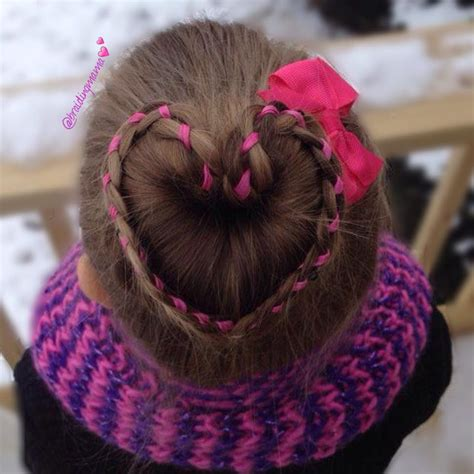 cute valentines day hair style ideas  kids blurmark