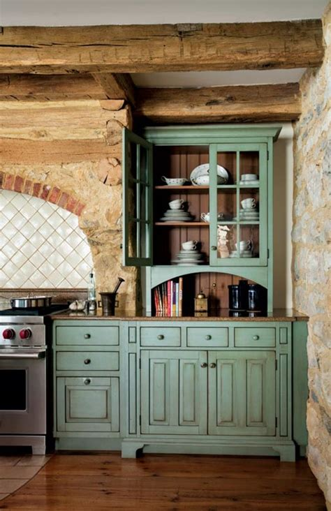primitive colonial inspired kitchen restoration design