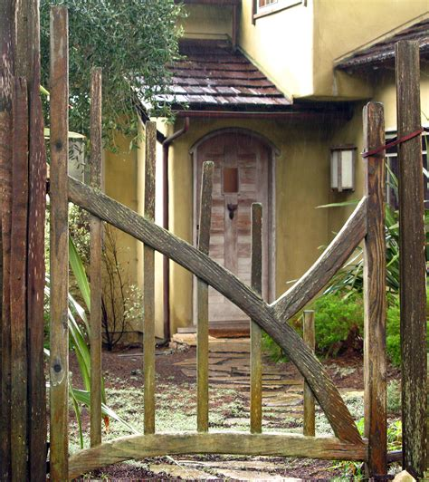 diy garden gate designs wood rustic plans free