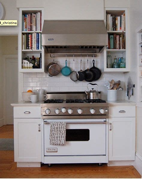 range with pot rack stove the white and pot racks on