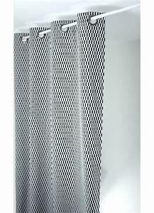 Rideaux Design Contemporain : rideau design en jacquard navette noir et blanc ~ Teatrodelosmanantiales.com Idées de Décoration