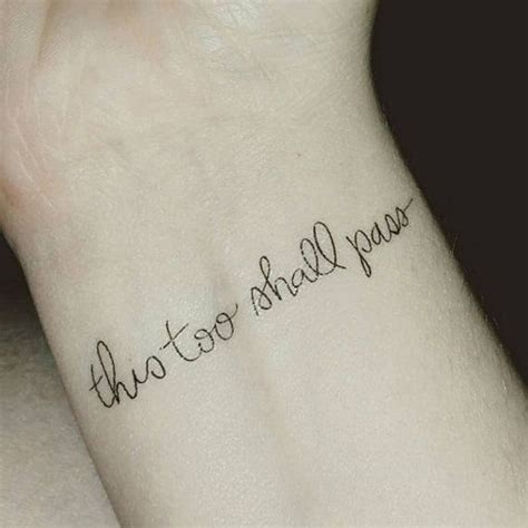 two word inspirational quotes for tattoos