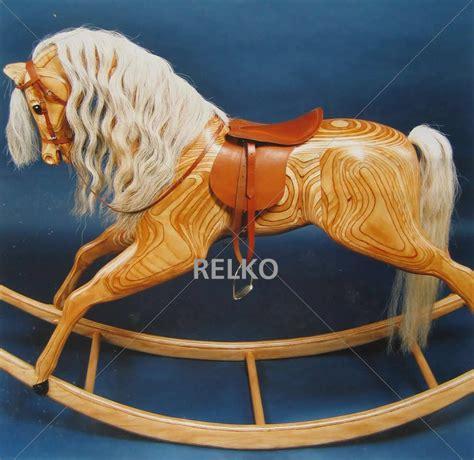 woodwork carved wooden rocking horse plans  plans