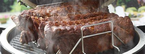 egg ribs rack perfect cooking recipes