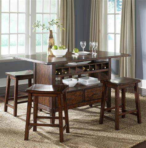 The Bar Table by Add Stylish Rectangular Pub Table For Residential Or