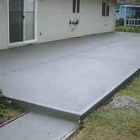 great concrete slab patio design ideas Only best 25+ ideas about Cement Patio on Pinterest | Simple backyard ideas, Landscaping ...