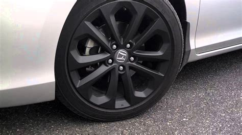 2013 Honda Accord Sport With New Black Rims