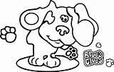 Clues Blues Coloring Header Desktop Property Drawing Wecoloringpage Print Nick Jr Getdrawings sketch template