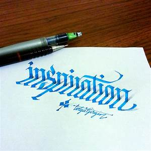 3d calligraphy experiments by tolga girgin colossal for Calligraphy pen letters