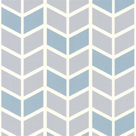 papier peint expans 233 sur intiss 233 224 motif picot bleu