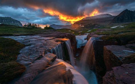 Nature, Landscape, Hill, Trees, Clouds, Montana, Usa, Rock