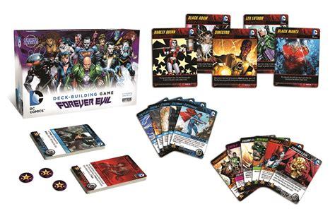 dc deck building expansion date dc comics deck building forever evil cryptozoic