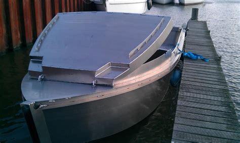 Boot Aluminium Steelfish by Steelfish Scratch Cabin Aluminium Sloepsloepzoeken Nl