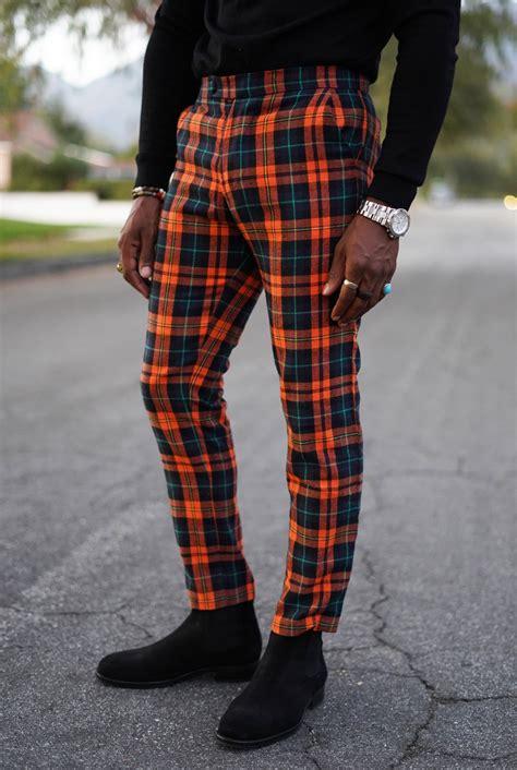 diy plaid pants  casual gq  norris danta ford