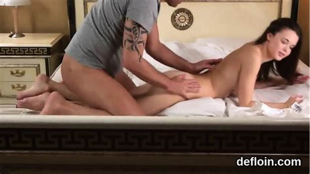 #Sensual #Sweetie #Stretches #Spread #Pussy #And #Loses #Virginity