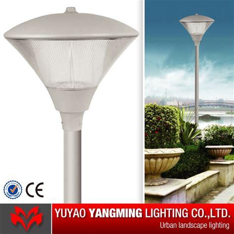 led garden lighting pole top china garden light