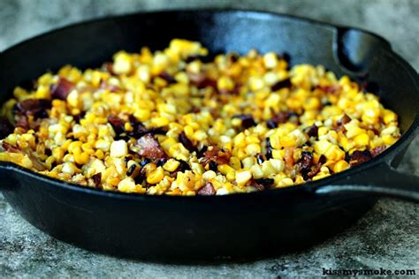 skillet corn charred skillet corn with bacon