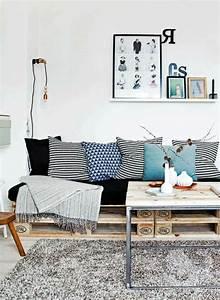 Coussin Palette Ikea : cr ations palettes recup et ecolo aventure d co ~ Teatrodelosmanantiales.com Idées de Décoration