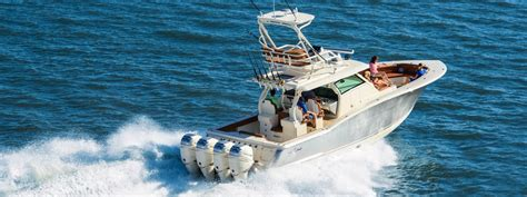 fishing offshore boats tuna boat console center scout luxury yamaha lxf favorite right