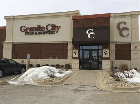 mediocre food service review of granite