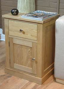 Mobel Oak 1 Door 1 Drawer Lamp Table Mobel Oak Living