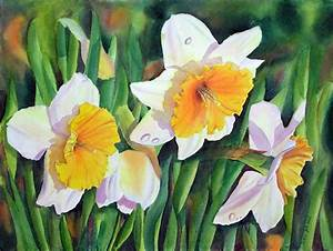 167 best DAFFODIL PAINTINGS images on Pinterest ...