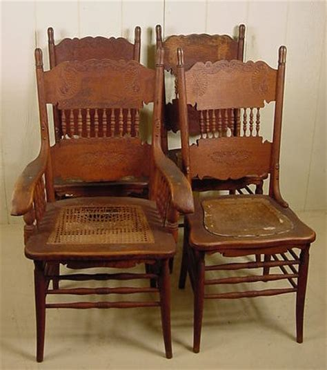 press back chairs oak set of 4 oak press back chairs w