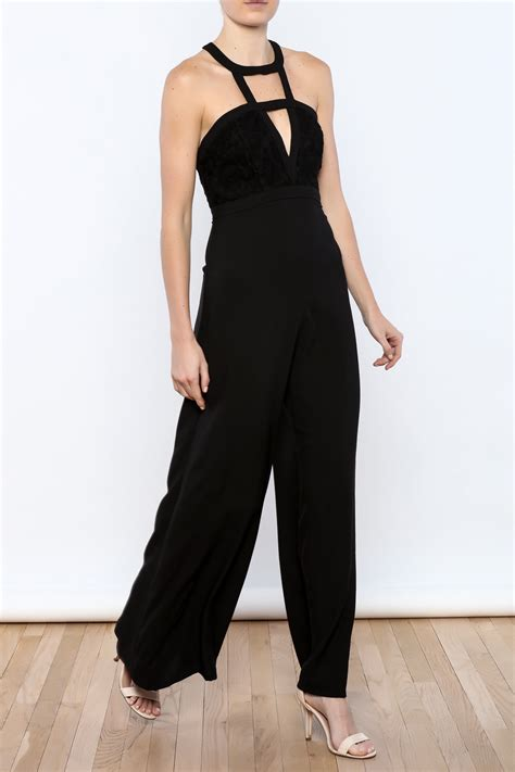 formal black jumpsuit aakaa black formal jumpsuit from florida by apricot