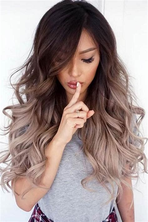 trendy hair color ideas  long hairs   pics