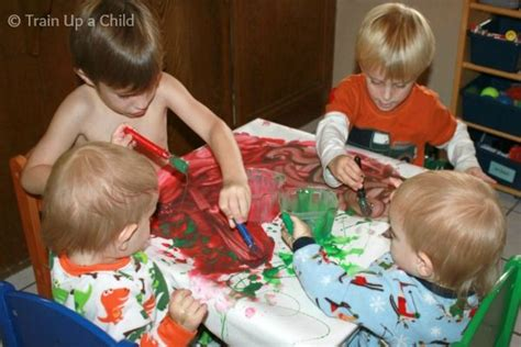Tips and Tricks for Messy Play {from a Busy Mom of 4 ...