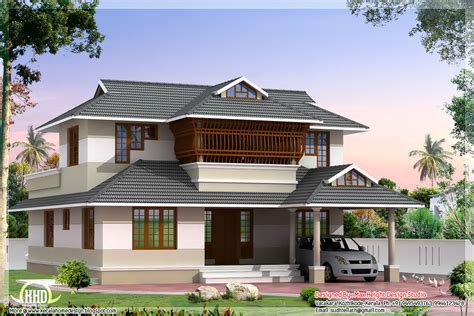 style home kerala style villa architecture 2200 sq ft kerala home