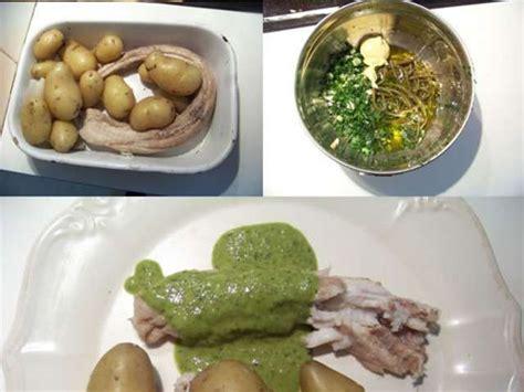 cuisiner de la roussette recettes de sauce verte et sauces 4