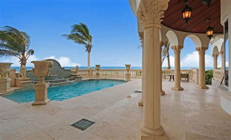 million oceanfront mansion  jensen beach florida homes   rich