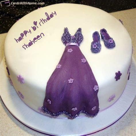 shaheen  card   birthday cake writing