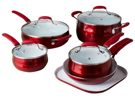 tasty titanium reinforced ceramic nonstick walmart exclusive kitchen cookware consumer reports