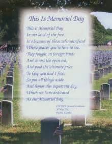 Beautiful Memorial Day Poem