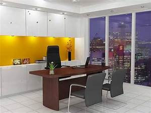 Amazing of cool stylish home office ideas for men work of for Office interior decoration items