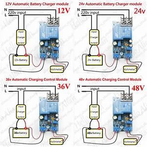 12v 24v 36v 48v Automatic Battery Charger Charging