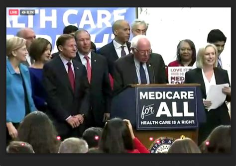 LIVE: Bernie Sanders Introduces His Medicare for All Act
