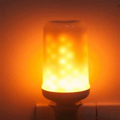 Led Flame Bulb Lamp Fire Effect Lighting