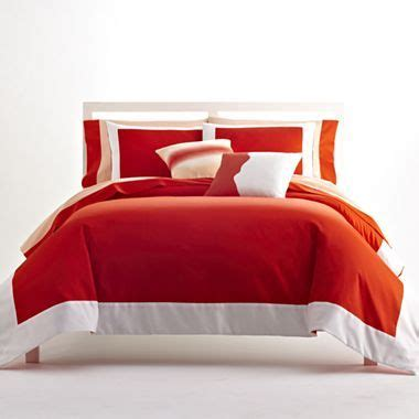 Pantone Nathan Bed Set pantone universe tangerine comforter set