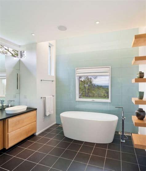 top  unique ombre floor tile    bathroom