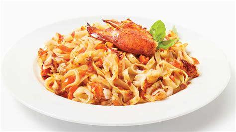 p 226 tes au homard et au pesto recettes iga pesto fruit de mer recette facile