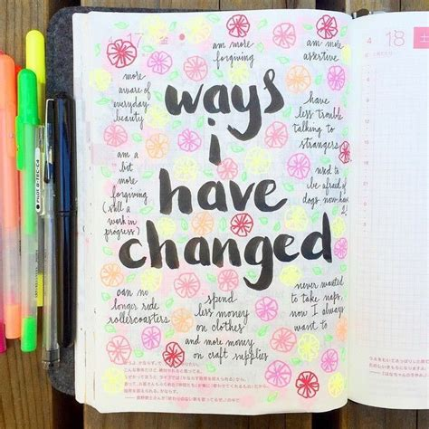 Decoration Ideas For Diary by 25 Best Ideas About Journal Pages On Notebook