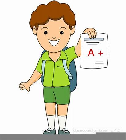 Grade Clipart Student Showing Grades Clip Students