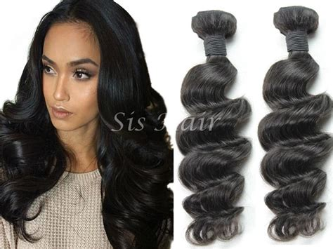 9a Malaysian Virgin Hair Loose Wave