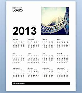 free business calendar 2013 template for ms word 2013 With microsoft word calendar template 2013